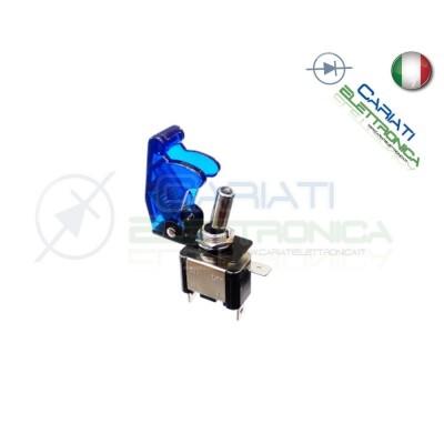Interruttore Leva Con Led Rosso Tuning 12V 20A