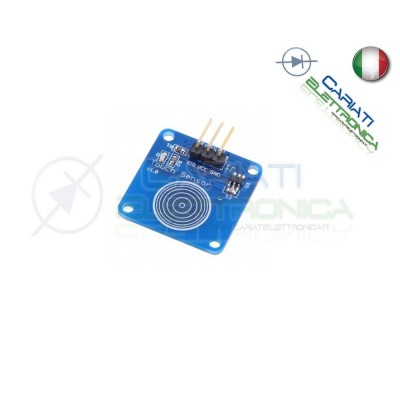 PULSANTE SENSORE TOUCH CAPACITIVO TTP223B DIGITALETOUCH SWITCH