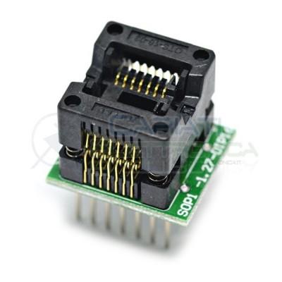 Adattatore Basetta Test PCB Programmazione SOP14 a DIP14