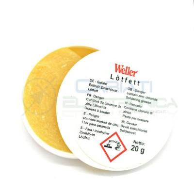 WELLER Pasta saldante salda 20g per saldatura punte saldatore stagno  3,80€