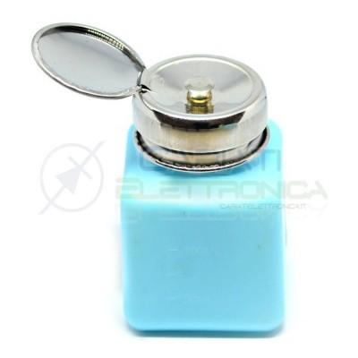 Dosatore fiala bottiglia 120ml ESD antistatico HDPE Colore BLU 5,99 €