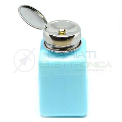 Dosatore fiala bottiglia 200ml ESD antistatico HDPE Colore BLU 7,99 €