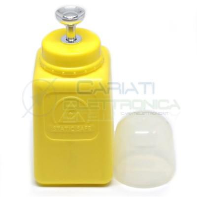 Dosatore fiala bottiglia 200ml ESD antistatico HDPE Colore GIALLO 16,90 €