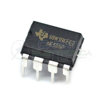 5 PEZZI NE555P NE555 Equivalente NE555N Integrato temporizzatoreTexas instruments