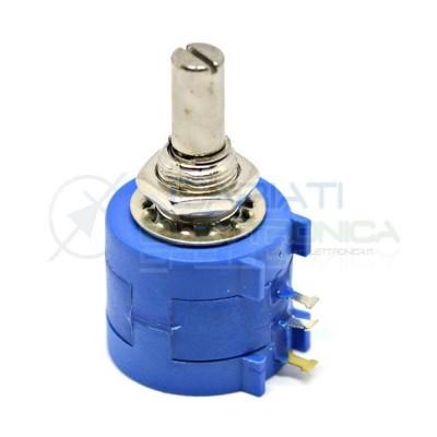 Potenziometro Multigiro Trimmer 3590S 500 ohm 500ohm  3,50€