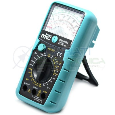 Multimetro tester analogico con continuita' MKC strumentazione MKC-365B