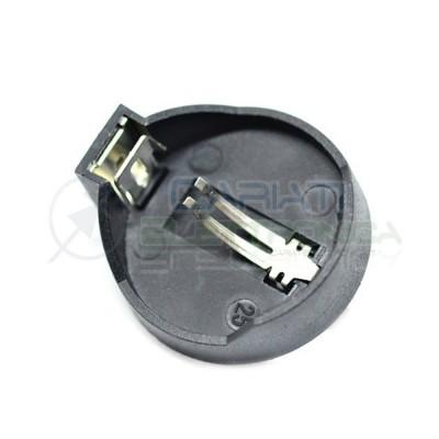 Portabatterie piatto per batteria a Bottone CR2032 CR 2032