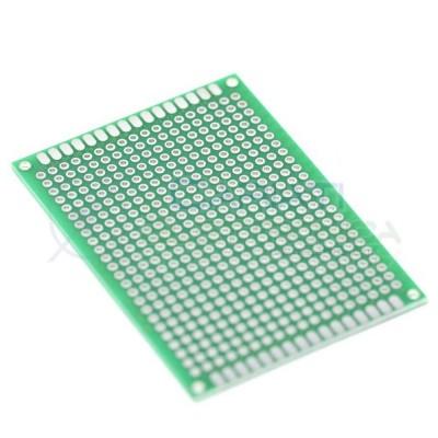 Basetta millefori 70x50mm Doppia Faccia Passo 1,54mm Breadboard Cariati Elettronica