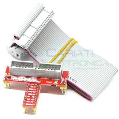 GPIO Scheda Di Espansione Sviluppo Per Raspberry PI +26 Pin Flat Ribbon Cavo