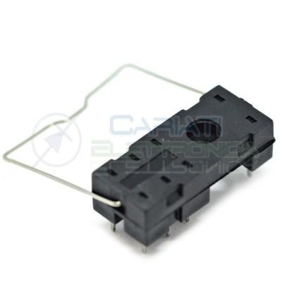 Portarelè Zoccolo per Relè doppio scambio 8 pin pcb circuito stampato porta