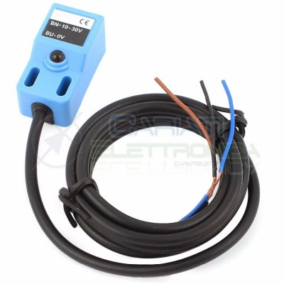 Sensore di Prossimità Induttivo NPN NO 10-30Vdc Finecorsa Arduino  4,59€