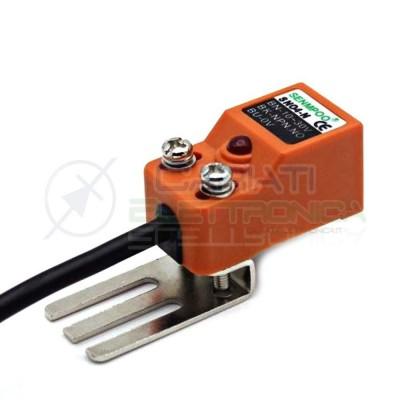 Sensore di Prossimità Induttivo NPN NO 10-30Vdc Finecorsa Arduino