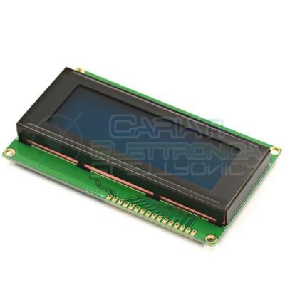 Display Lcd Character Lcm BLU 20x 2004 Caratteri Retroilluminato Comp. HD44780  5,99€