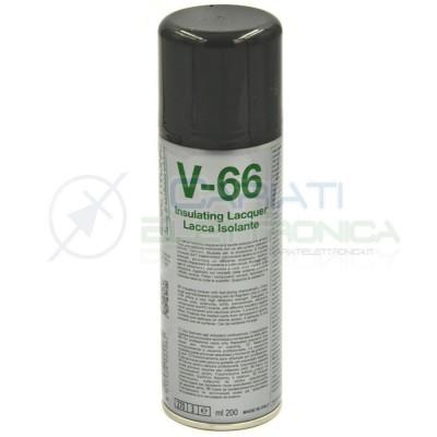 V-66 200ml DUE-CI SPRAY LACCA ISOLANTE V66 ORIGINALE !!!