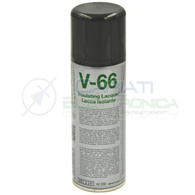 V66 Spray lacca isolante da 200ml per circuiti elettronici Due-ci Due-Ci