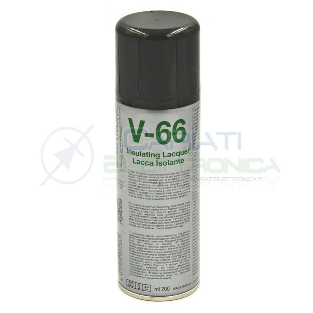 V-66 200ml DUE-CI SPRAY LACCA ISOLANTE V66 ORIGINALE !!! Due-Ci 7,99€