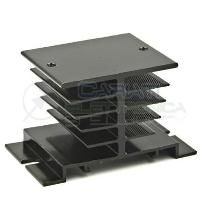 Dissipatore Aletta Raffreddamento per relè stato solido statico SSR 80x50x50  3,59€