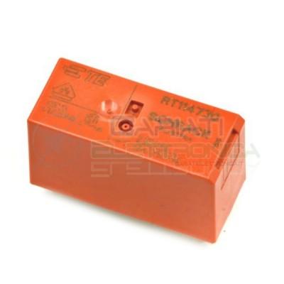 Relè SPDT TE Connectivity RT114730 bobina 230V Corrente max 12A PCB 5 PIN