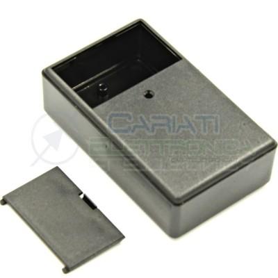 Contenitore custodia 99x60x30 mm con vano pila AA AAA o 9V in ABS nero  1,99€