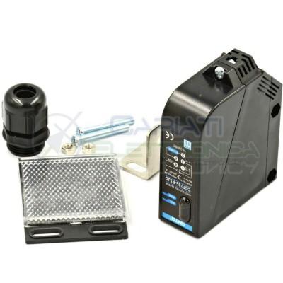 Interruttore FOTOCELLULA 12V 24V DISTANZA 5m sensore infrarossi fotoelettrico