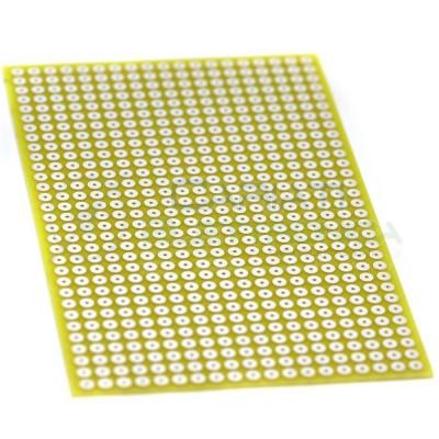 10 Pezzi Basetta Millefori 100x160mm Sperimentale Passo 5mm Monofaccia in Vetronite BreadBoard Generico