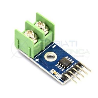 Max6675 K-Type TERMOCOPPIA SENSORE di temperatura 0-800 gradi SPI flusso  6,49€