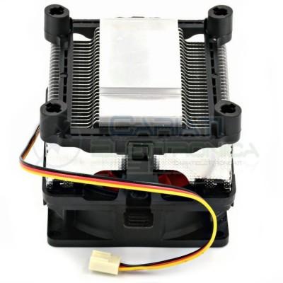 Ventola con Radiatore per dissipazione calore 12V Peltier Cpu Dissipatore Sunon 8,00€