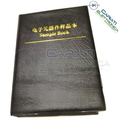 KIT Libro Condensatori SMD 0805 da 4600 pezzi 92 valori 92x50pz MuRata GRM21