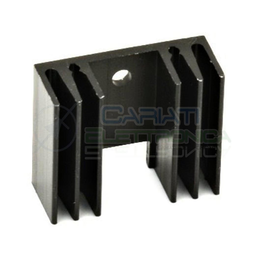 1 x Dissipatore Alluminio per TO220 Aletta di raffreddamento