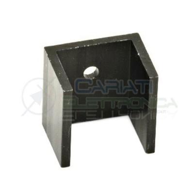 2 pcs Heatsink in aluminium 20x19x15 mm TO220