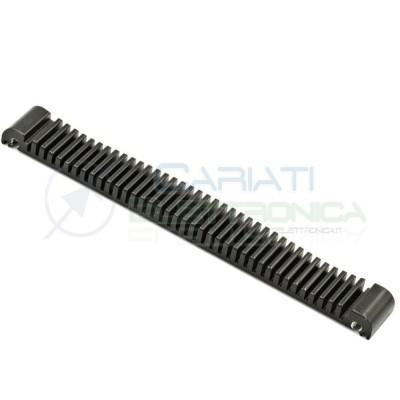 1 PEZZO Dissipatore Aletta Raffreddamento Alluminio 132x15x7mm Generico