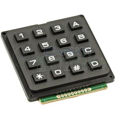 Tastiera Numerica 4x4 16 Tasti Pulsanti Keypad Tastierino 7,50 €