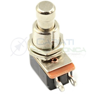 Pulsante SPST MOMENTANEO OFF-(ON) Effects PEDAL SWITCH FOOT Pedale Chitarra