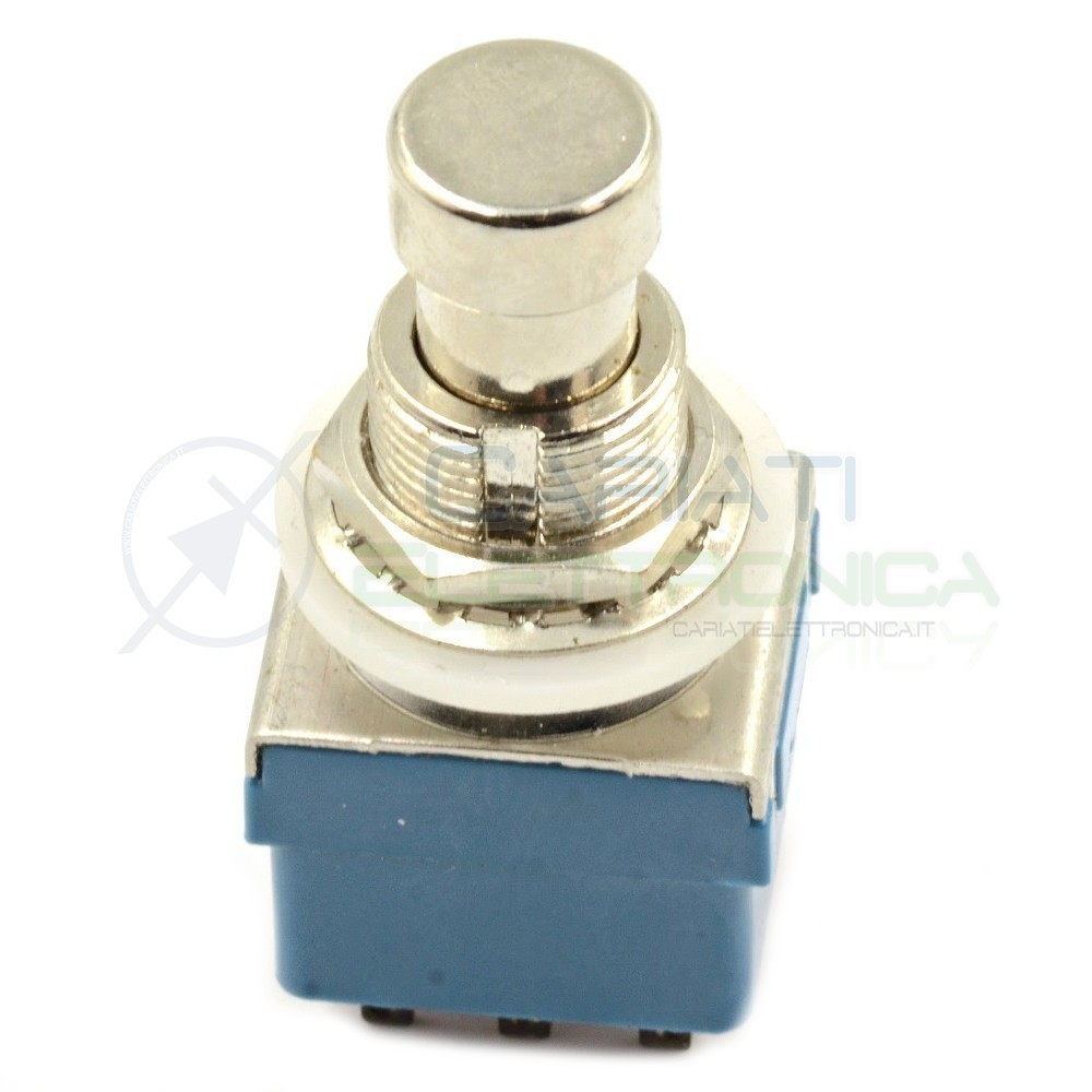 Interruttore 3PDT 9 pin TRUE BYPASS Effects PEDAL SWITCH FOOT Pedale Chitarra Generico