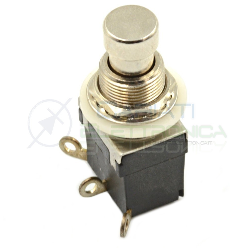 Deviatore 3 pin SPDT ON/ON Guitar Effect Pedal Foot Switch Pedale Chitarra Generico