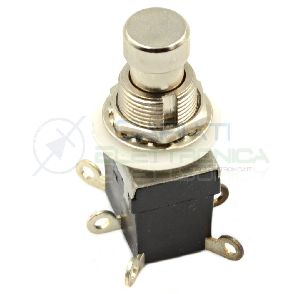 Deviatore 6 pin DPDT ON/ON Guitar Effect Pedal Foot Switch Pedale Chitarra  3,00€