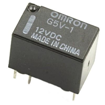 Relè singolo scambio OMRON G5V-1 DC12 1A 12V 12VDC SPDT Omron 1,59€