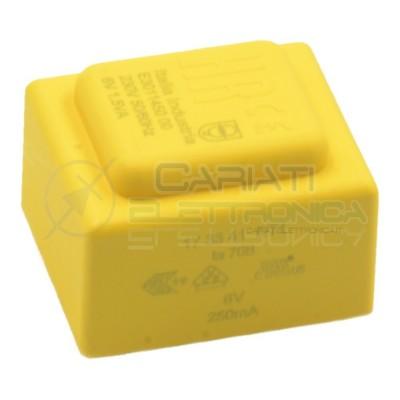 Trasformatore incapsulato da PCB 1,5VA ingresso 230V singola Uscita 6V 250mA  2,79€