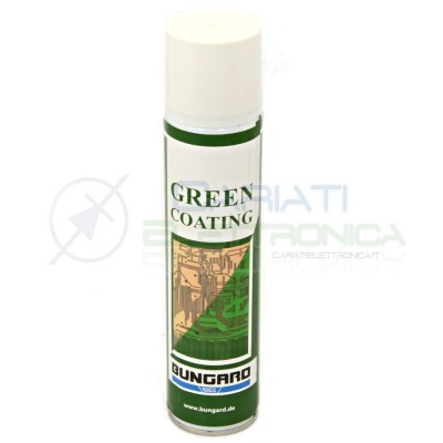 Spray lacca protettiva verde GREEN COATING BUNGARD 300ml Bungard elektronik