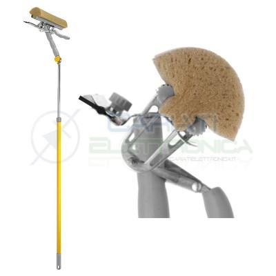 Squizzo Lavavetri Automatico Manico Allungabile e Pieghevole Spugna 25cm Apex  19,90€