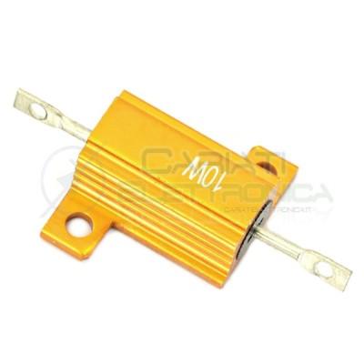 Resistenza Corazzata 3,3 Ohm 10 Watt Corpo In Alluminio 10W 10Watt Generico