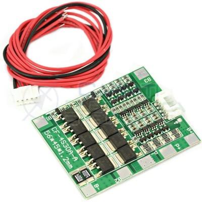 Circuito di protezione Bms per 4 batterie 18650 Litio PCB battery 12,8/14,4V 30A Generico