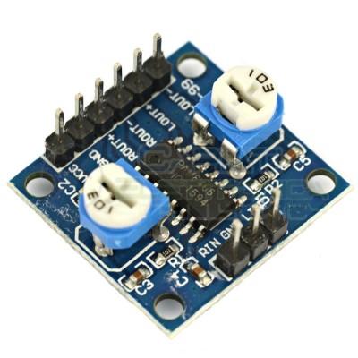 Modulo PAM8406 Amplificatore audio stereo digitale 5W + 5W CLASSE D 2,5-5V