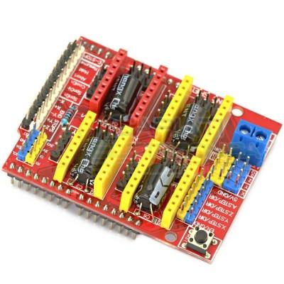 CNC shield V3 scheda modulo arduino engraving machine stampante 3d A4988 DRV8825 Generico