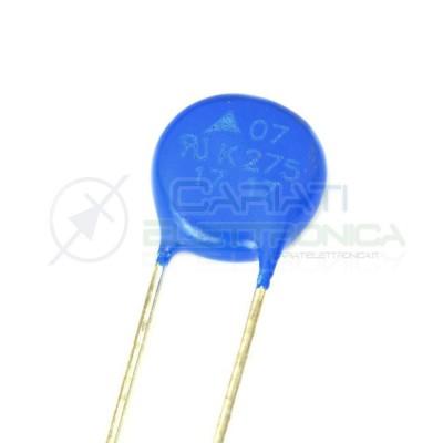 10 PEZZI Varistore S07K275 275Vac 350Vdc MOV soppressore EPCOS  1,00€