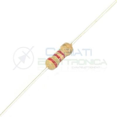 ITALIA x5 Resistenza a strato metallico 3W 3 WATT 1/% 200K 200000 Ohm 5 pezzi