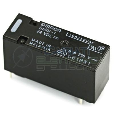 Relay Relè 24V DC OMRON SPDT 8A 250VAC 5A 30VDC G6RN-1 24DC Omron 1,70 €