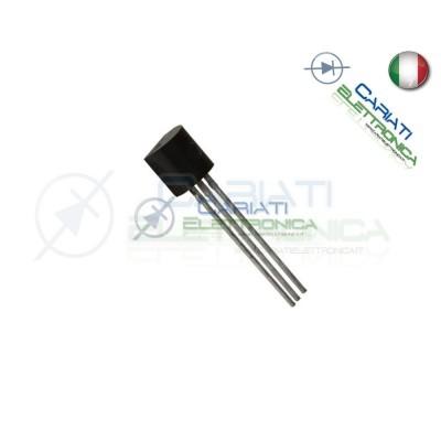 10 PEZZI BC557 Transistor PNP 65V 100mA TO92