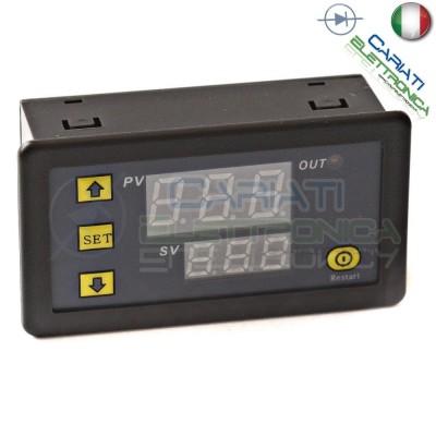Display Da Pannello Modulo Temporizzatore Timer 5V 6 Funzioni Rele' Relay Generico