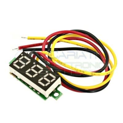 Display Lcd BLU Voltometro DC 0-100V Tensione Tester Generico